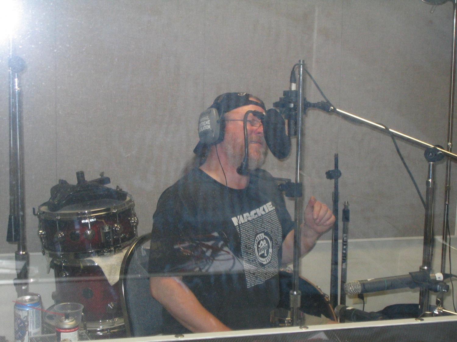 Clay Riness, Laying Down Vocals