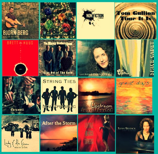 Collage of Momentous Records CD releases